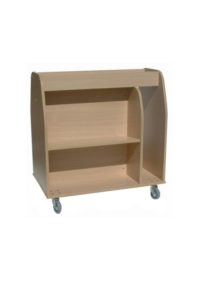 Multi Media Book Trolley