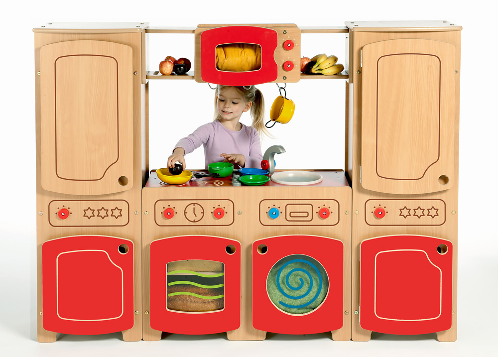 Modular Wooden Kitchen Kit Four