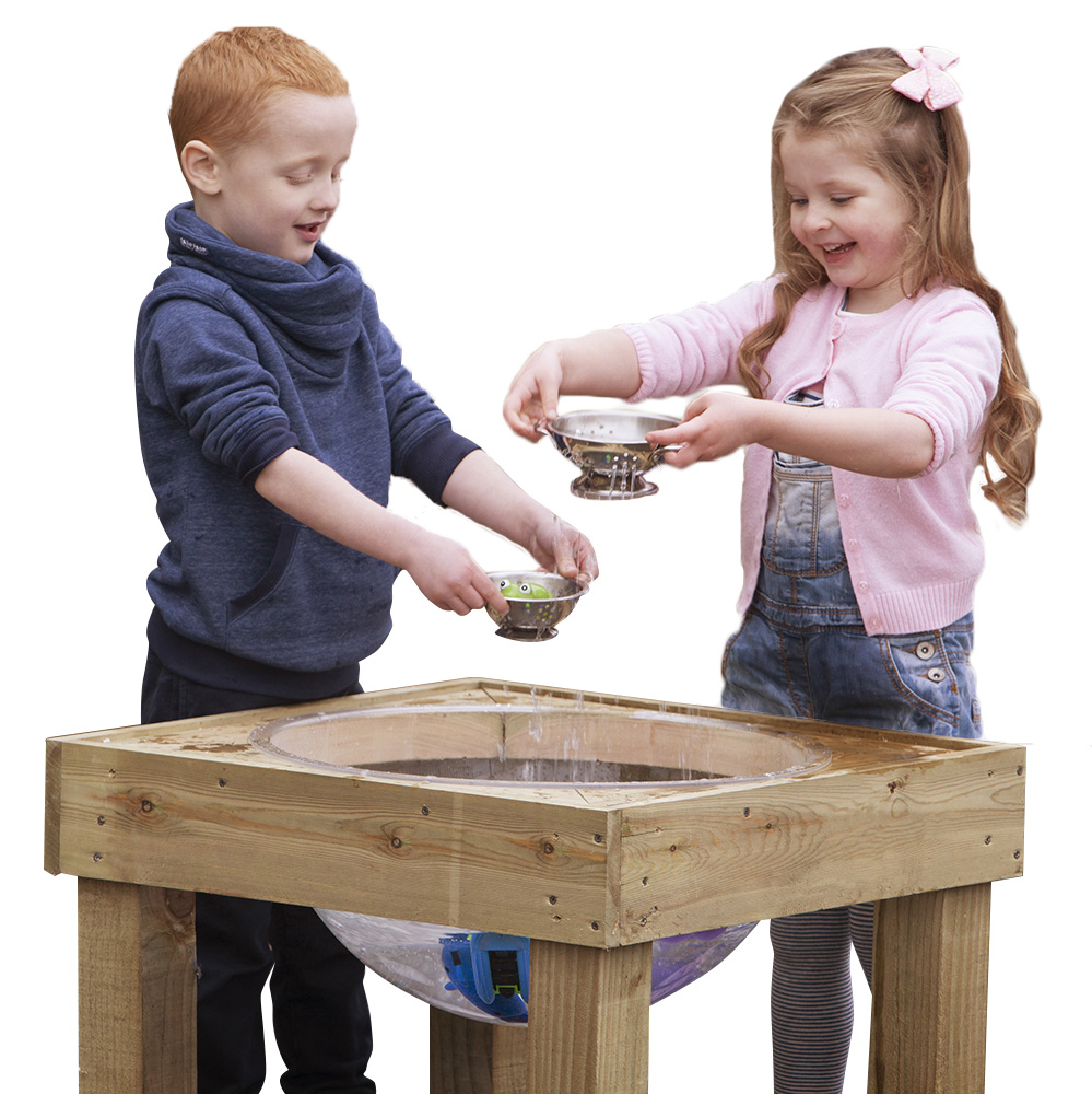 Outdoor Wooden Water Play Table