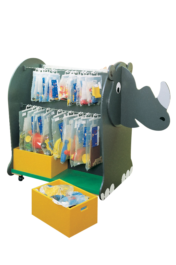 Rhino Toy Storage Unit