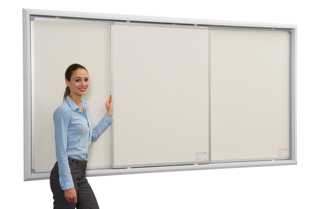 Sliding Writing Board System