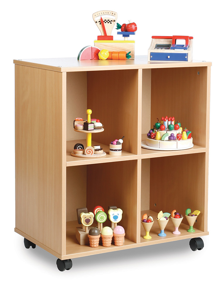 Allsorts Stackable Classroom Shelves
