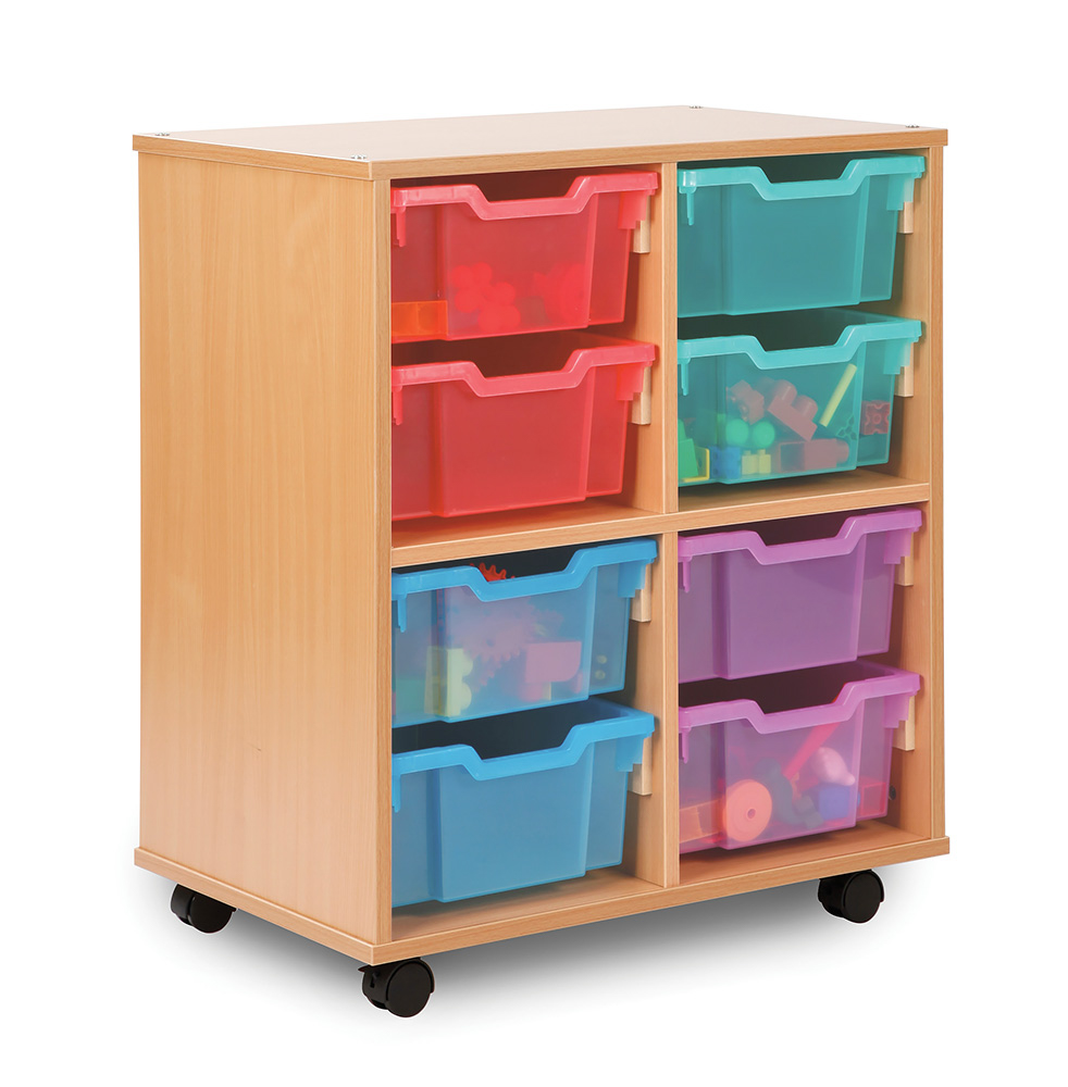 Allsorts Stackable Classroom Storage Unit Deep Trays