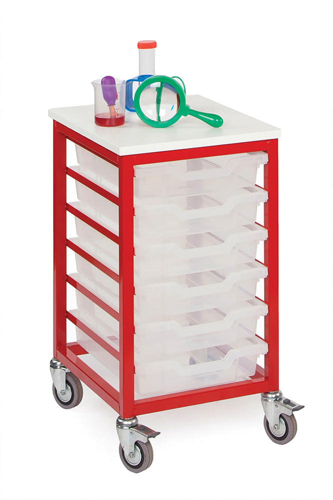 Mobile Metal Classroom Storage Unit