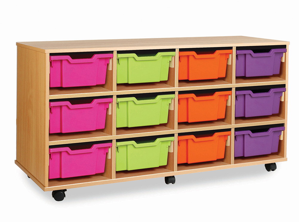 24 or 12 Combination Tray Storage Unit