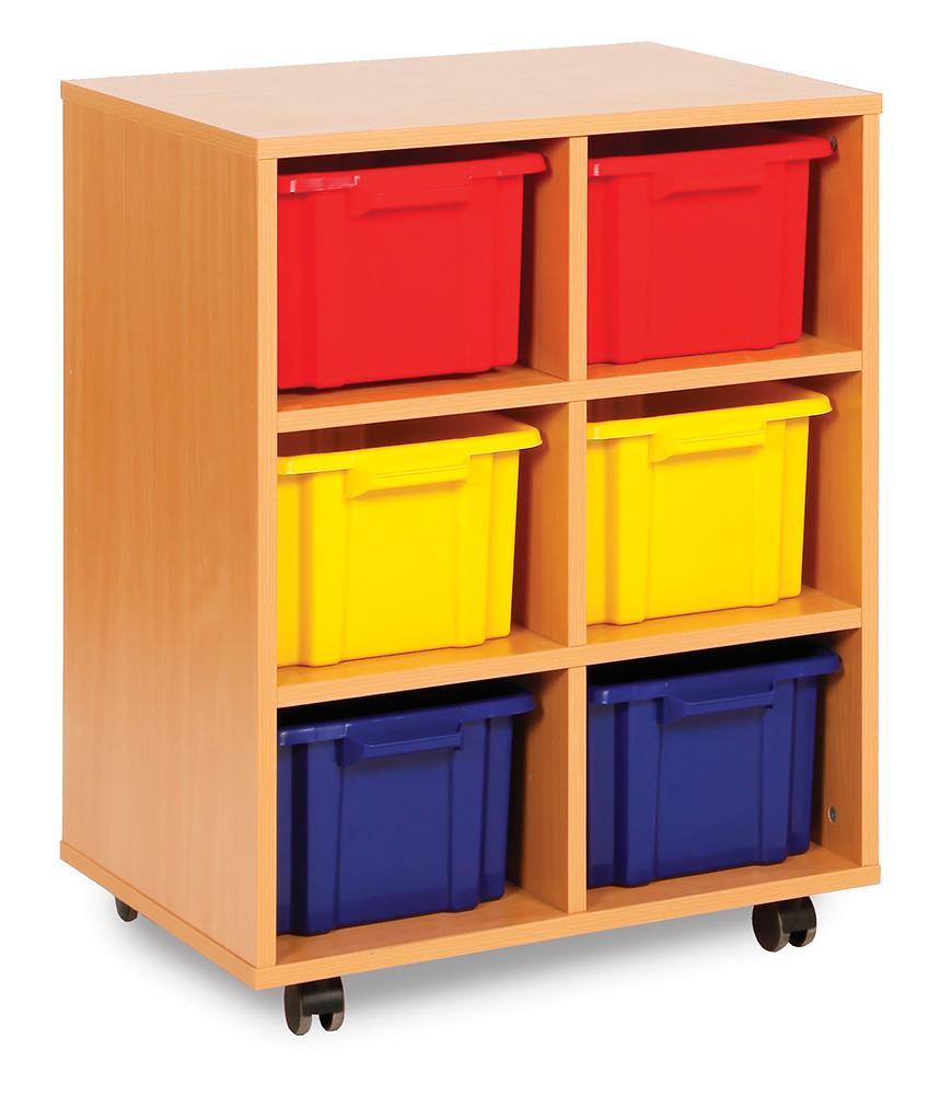 Budget Range Classroom Storage Unit Deep Strata Tray