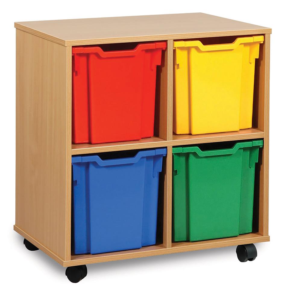 Jumbo Tray Classroom Storage Units