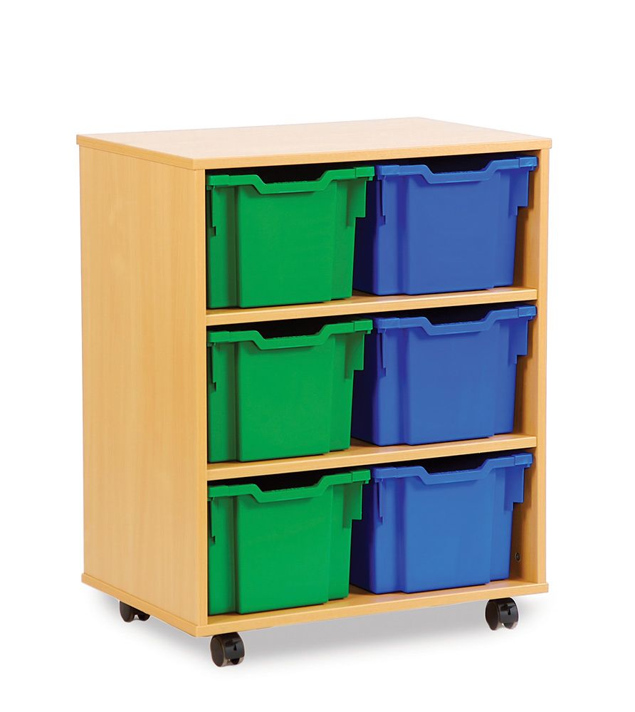 Extra Deep School Storage Trays