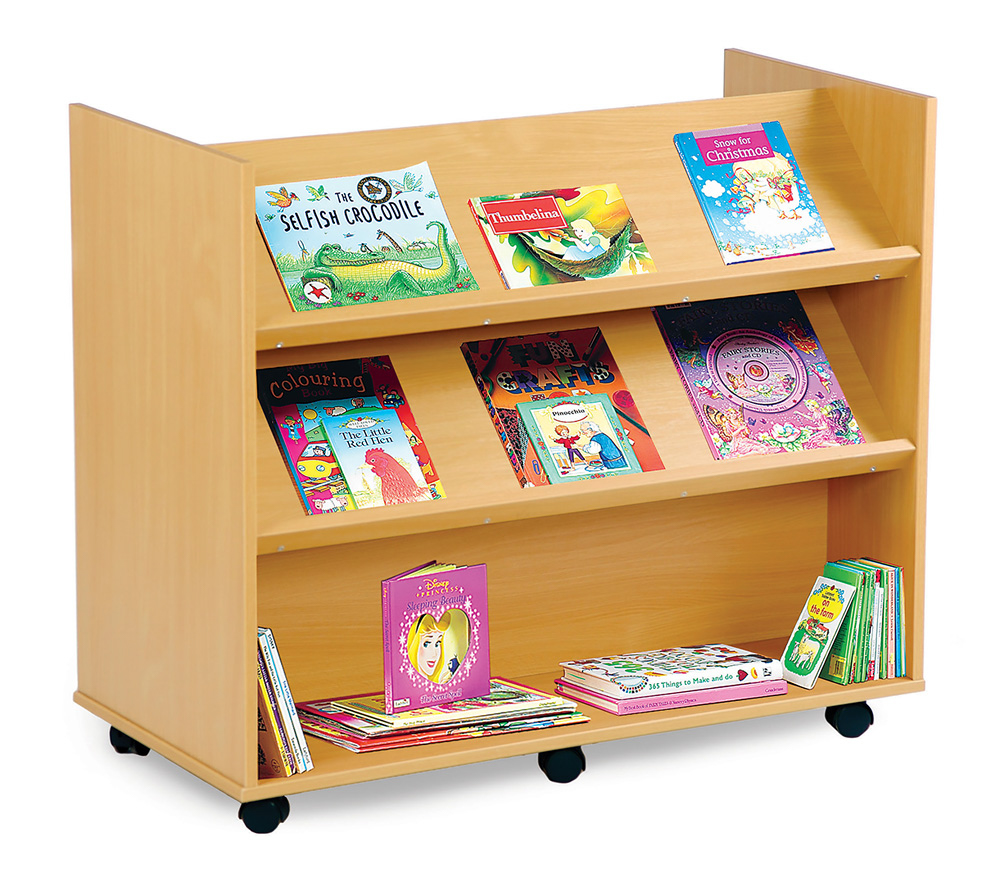 School Library Book Trolley
