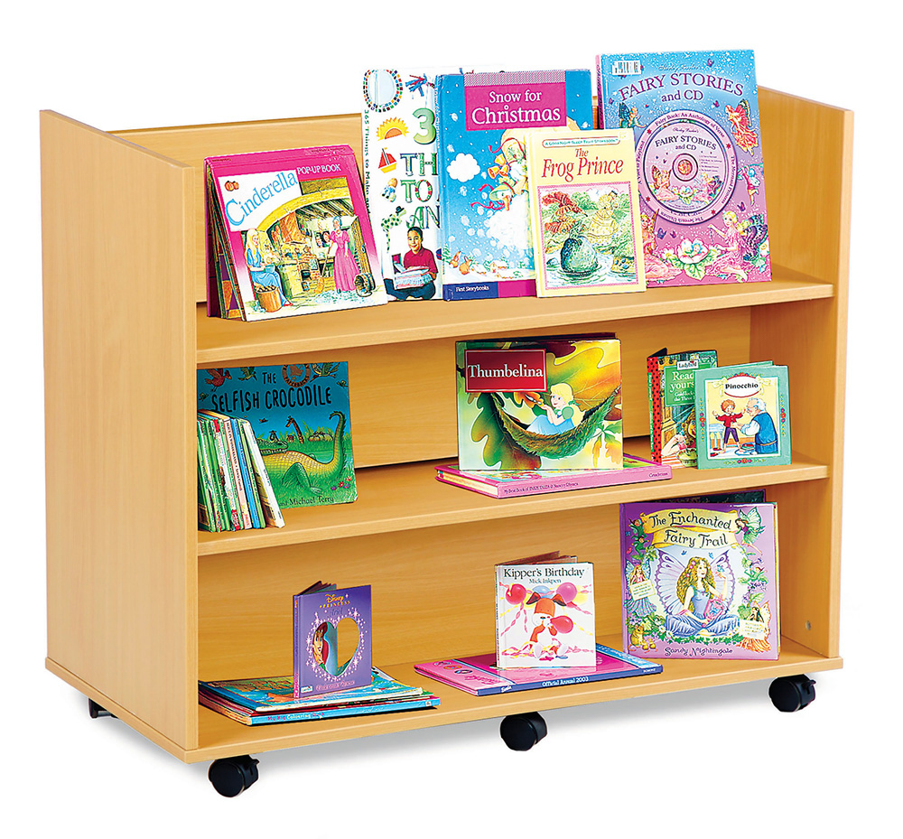 Library Book Trolley