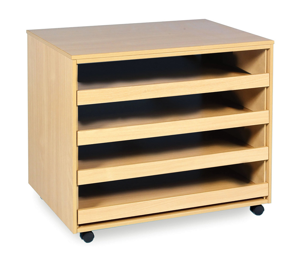4 Drawer A1 Paper Storage Unit