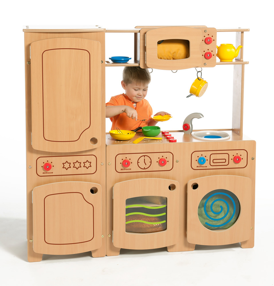 Modular Wooden Kitchen Kit Three