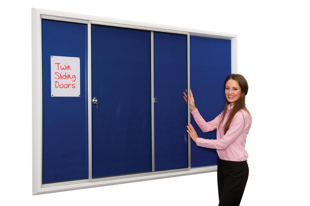 Safety Locking Noticeboard