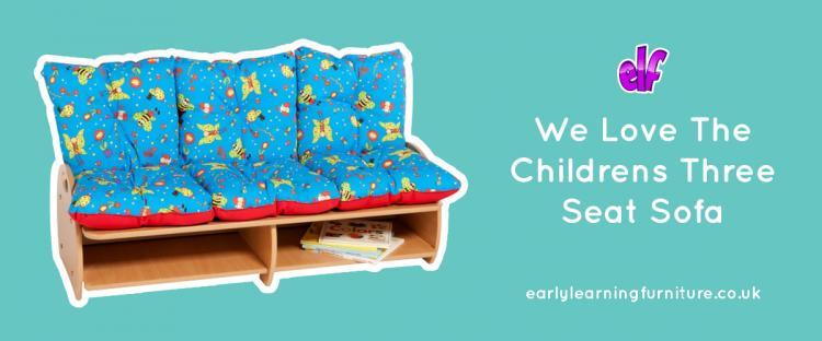 We Love the Three Seat Sofa
