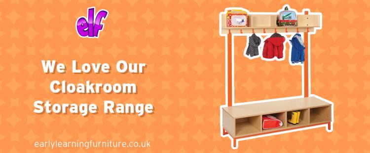 We Love Cloakroom Storage