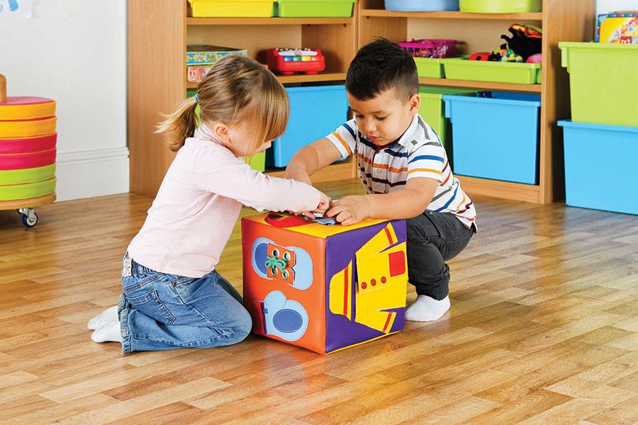 Sensory Soft Play Cube