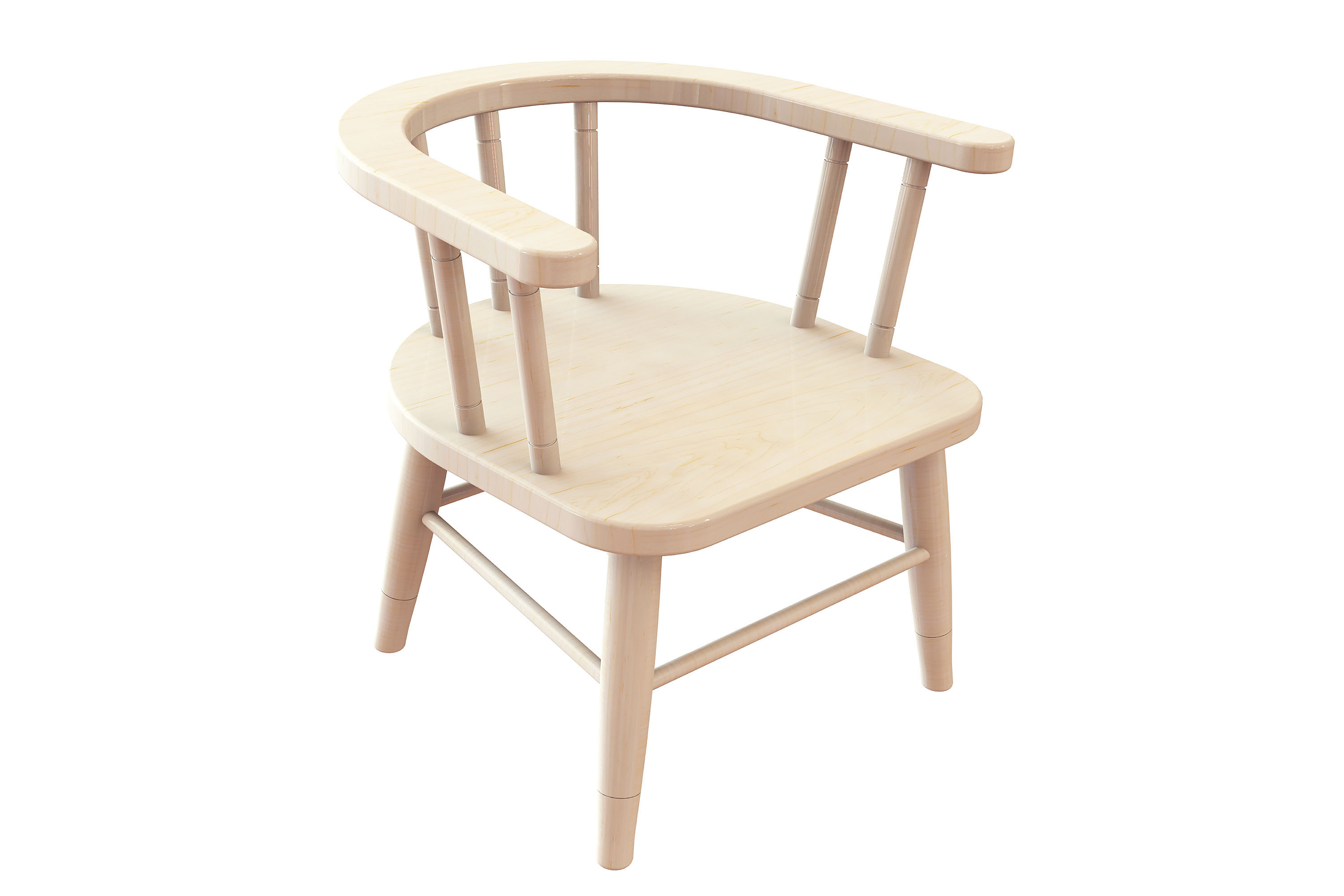 Childrens Captains Chairs Pack of 2