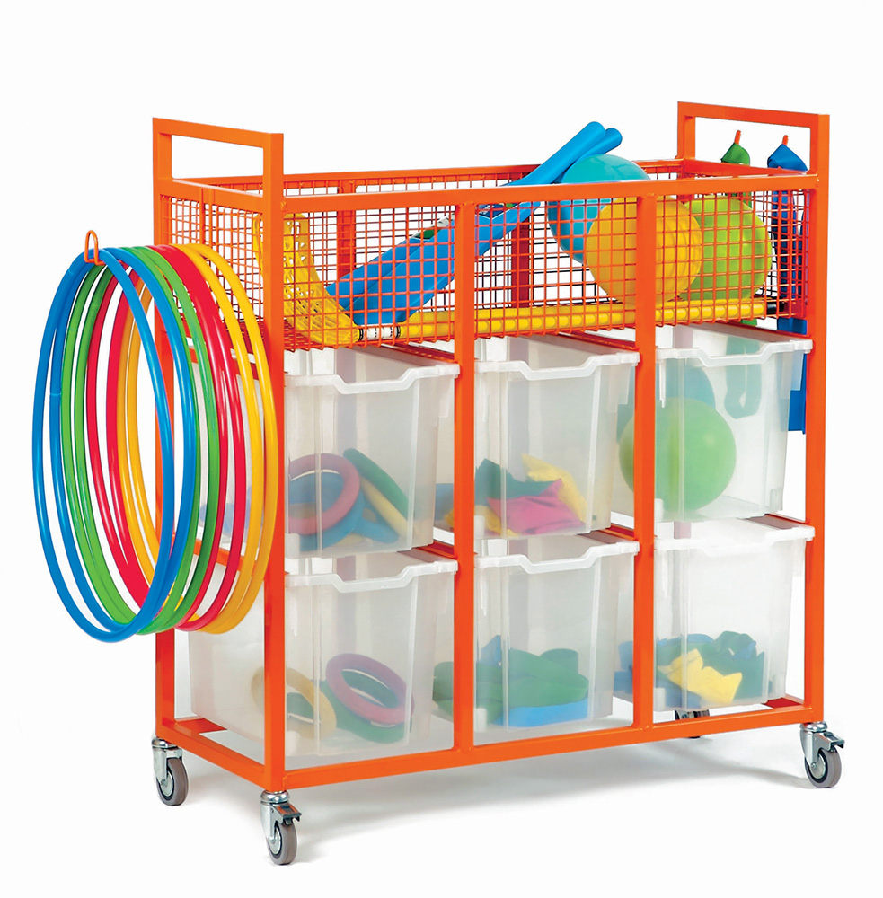 Sports Storage Trolley