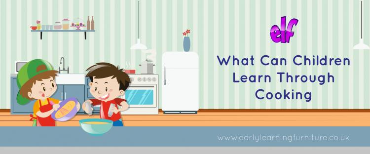 What can Children Learn Through Cooking?