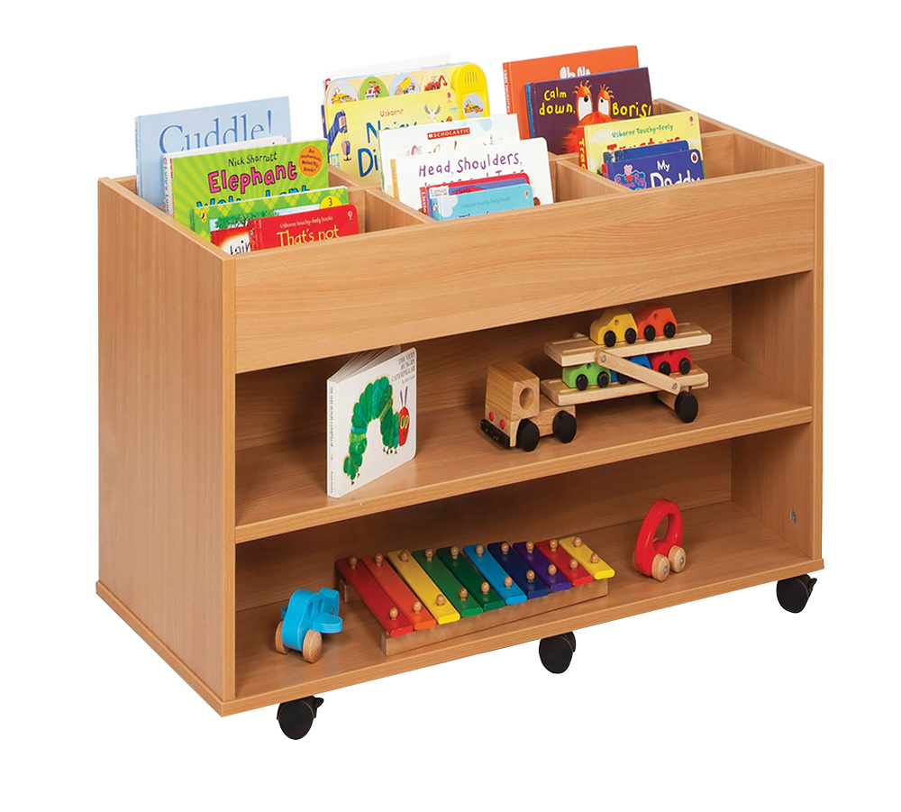 Kinderbox With Shelves