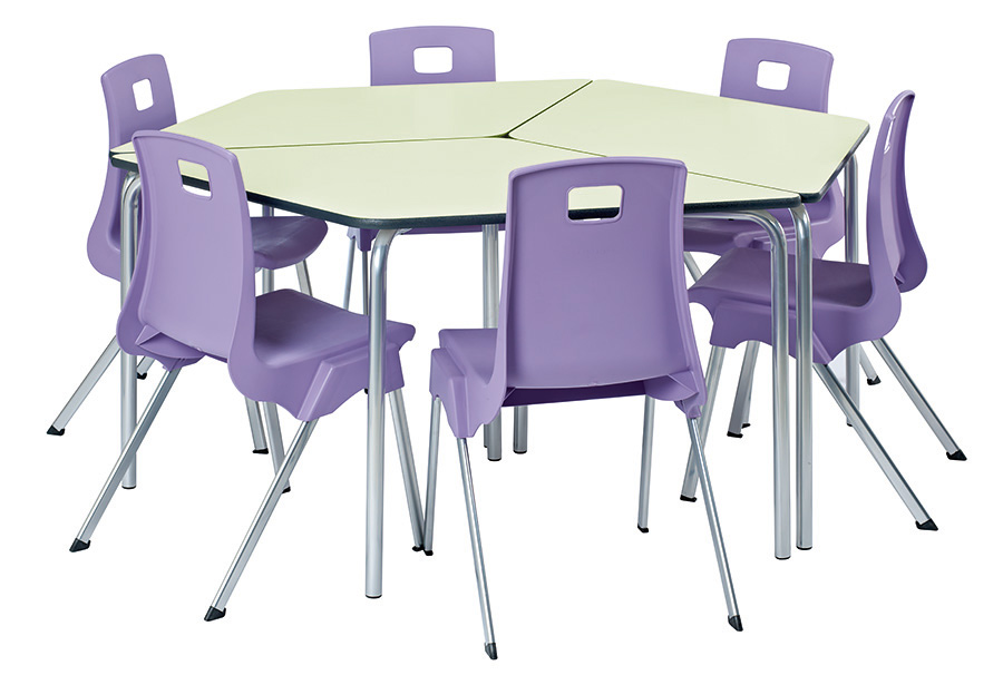 Equation Jewel Classroom Table Pack of 2