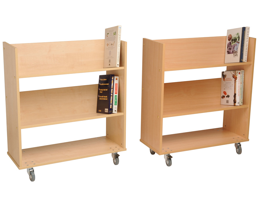 Single Sided Book Trolley