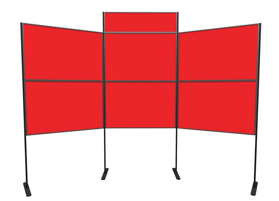 6 Panel and Pole School Presentation Boards