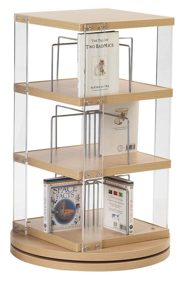 CD Counter Top Spinner (3 Tier)