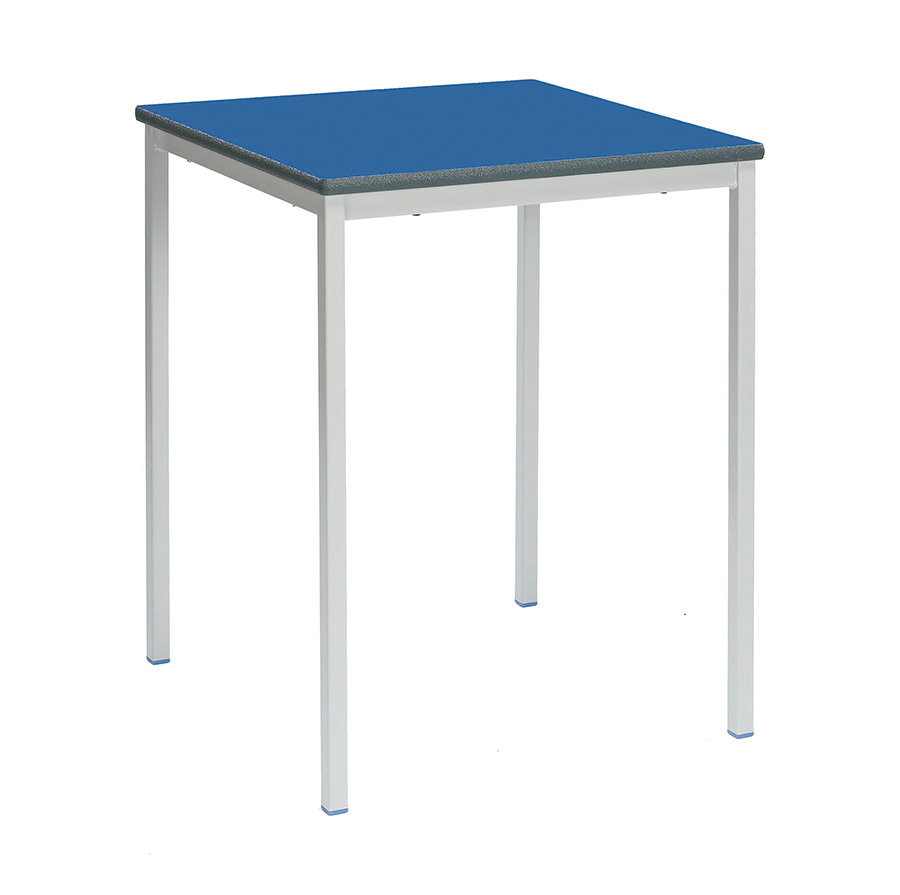 Fully Welded Square Classroom Desk Pack of 4