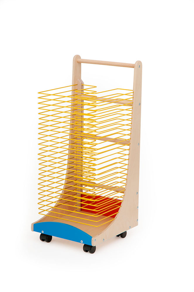 School Art Drying Rack