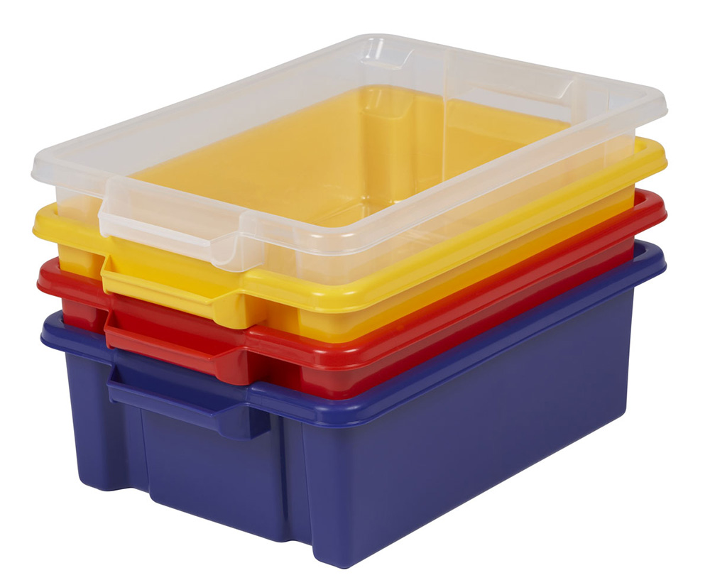 Shallow Strata School Trays Pack of 24