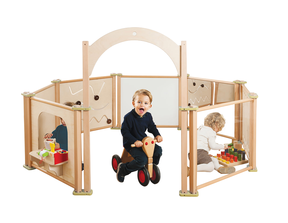 Toddler Playpen Panels Set of 8