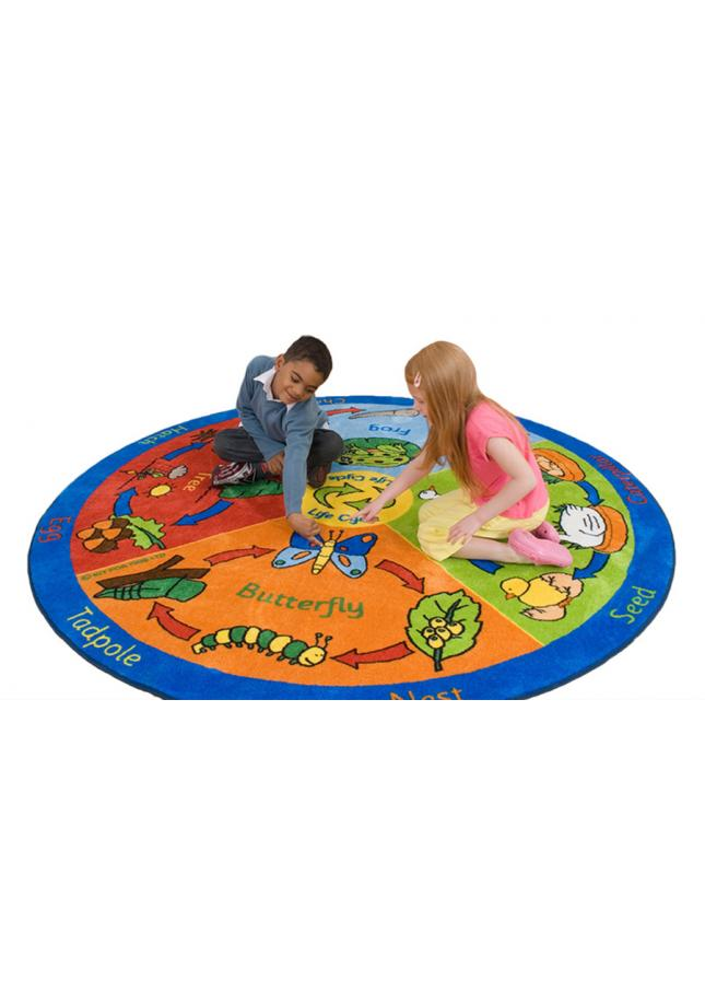 Life Cycle Educational Rugs