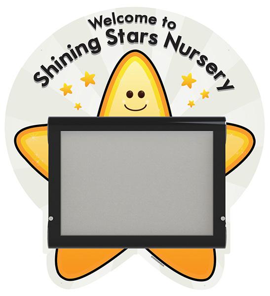 Nursery Welcome Sign Star