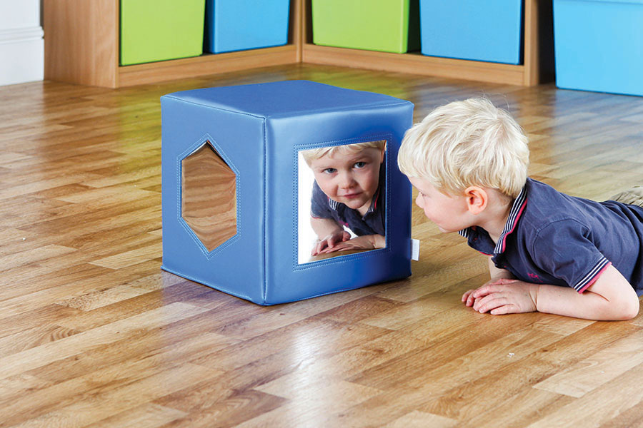 Soft Play Mirror Cube