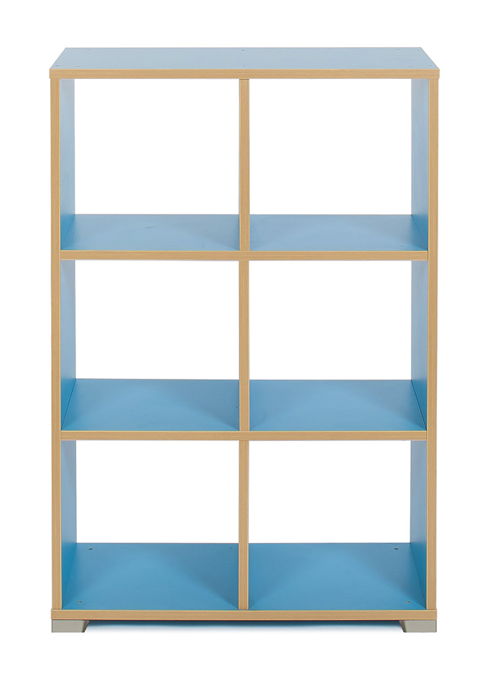 Bubblegum 6 Cube Vertical Room Divider