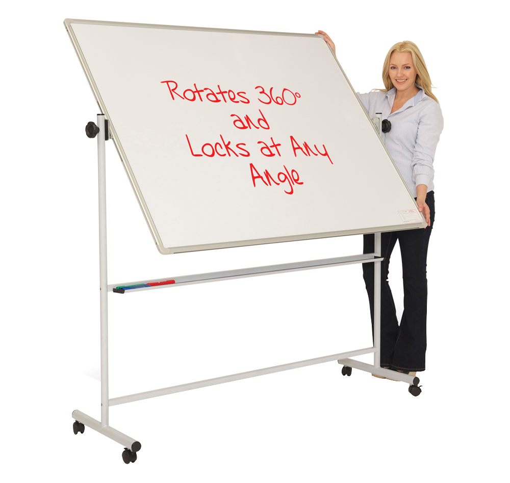 Mobile Teaching Swivel Writing Board