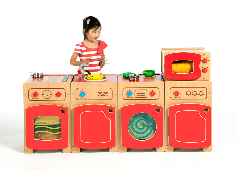 Stamford Complete Wooden Kitchen Play Set