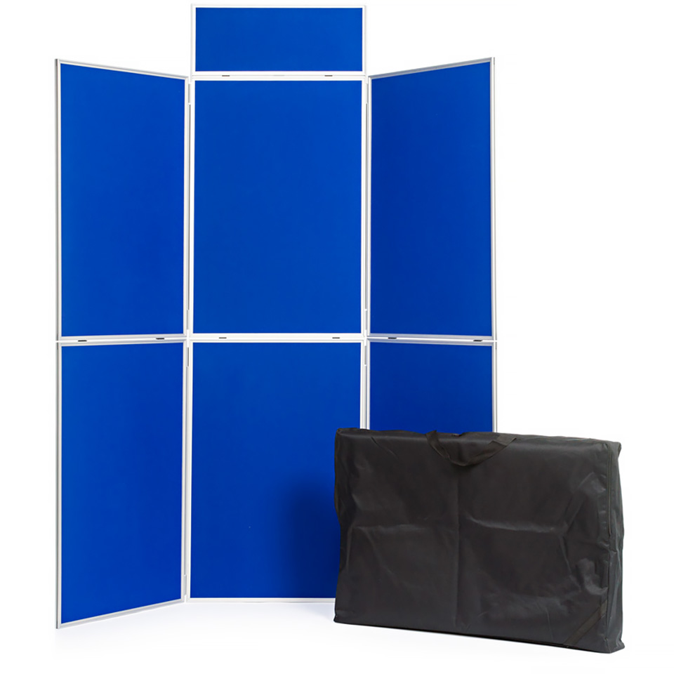 6 Panel Folding School Display Board