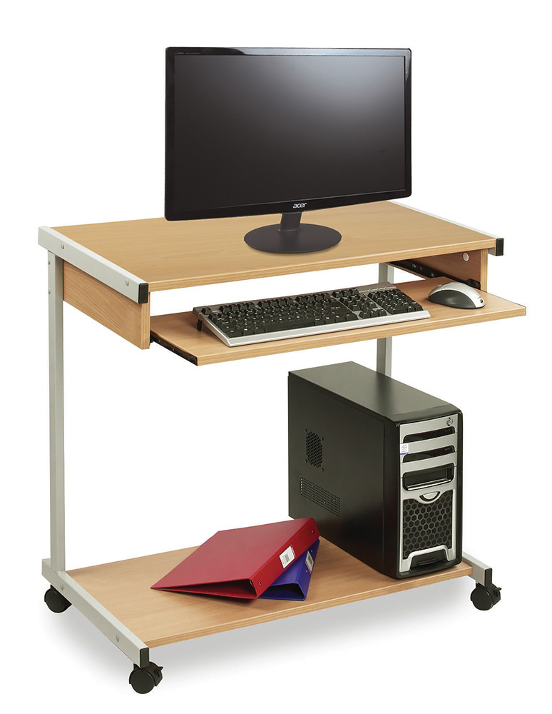 Wide Computer Workstation