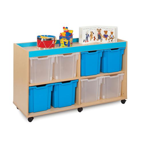 Classroom Tray Storage