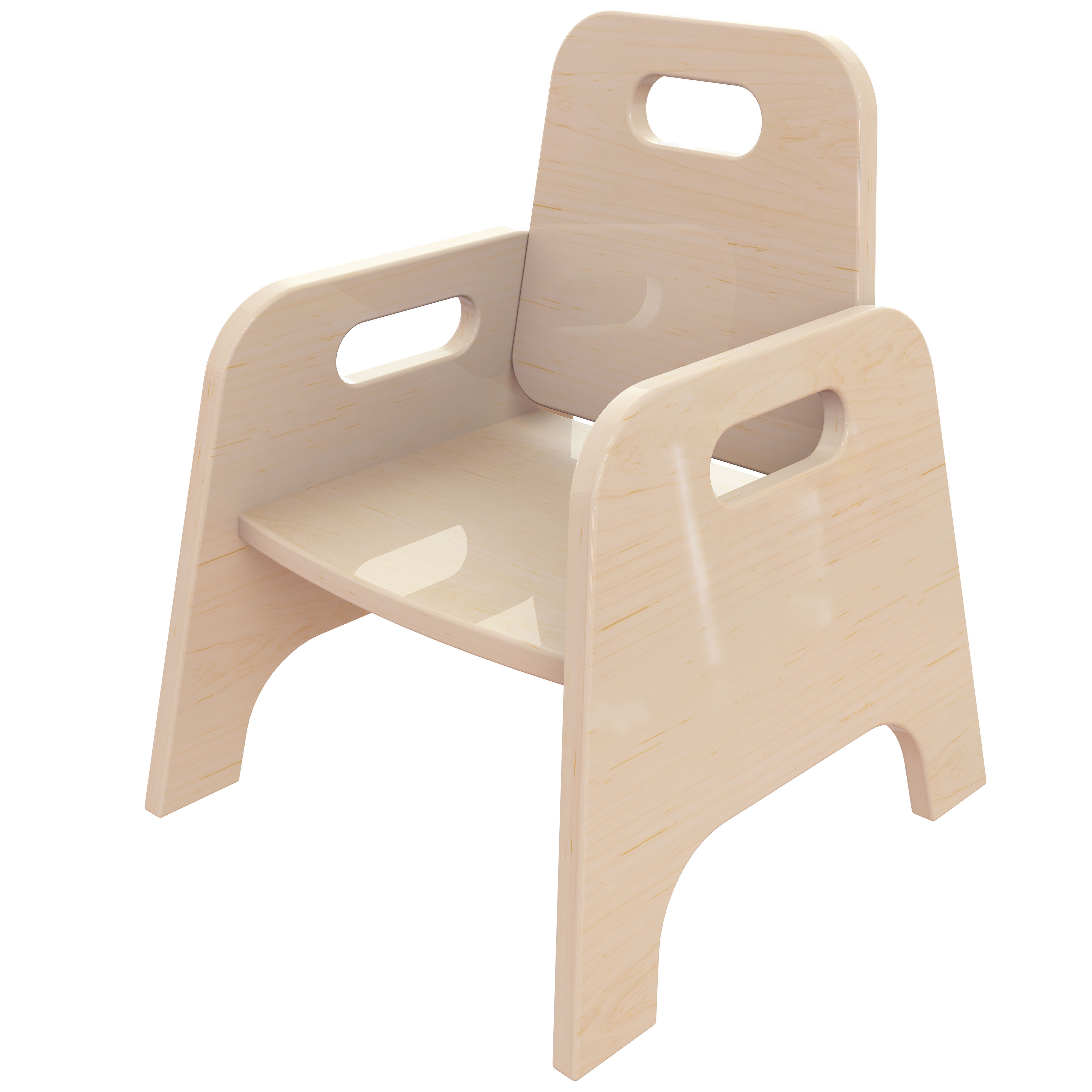 Wooden Toddler Chairs (Pack Of 2)