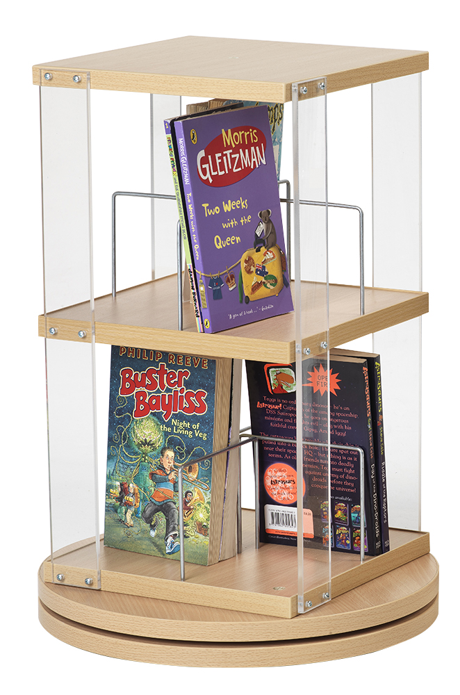 Paperback Counter Top Spinner (2 Tier)
