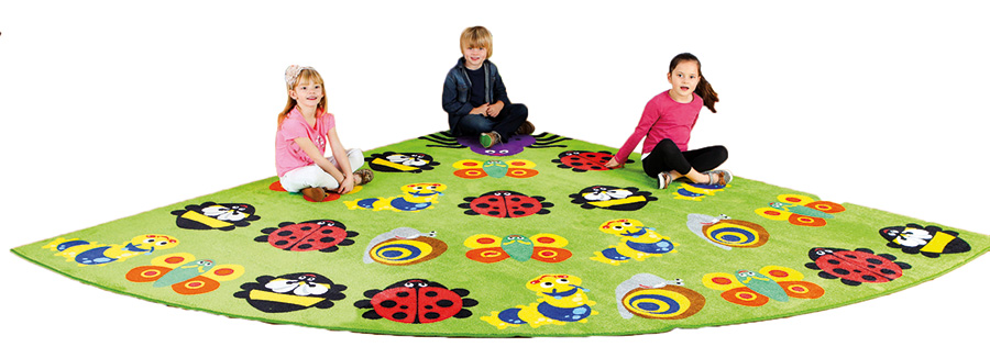 Back To Nature Corner Bug Classroom Carpets