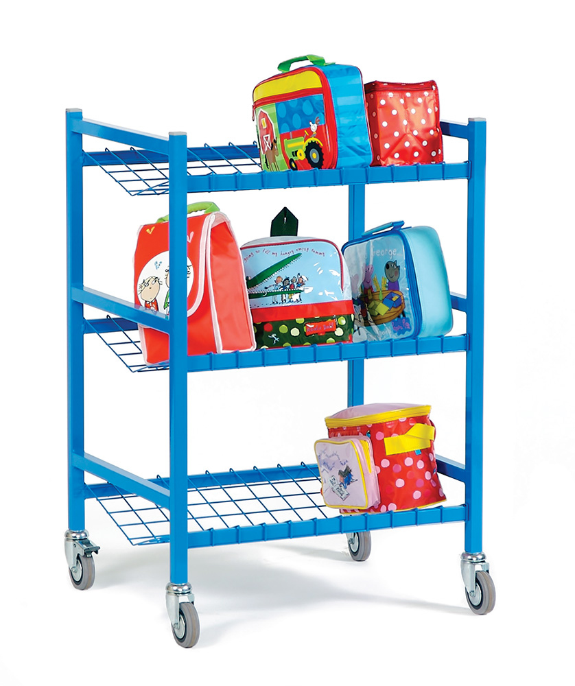 Small School Lunchbox Trolley