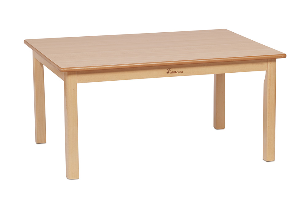 Rectangular Wooden Nursery Tables