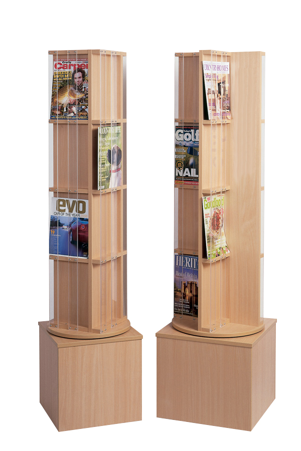 Magazine Display Spinner