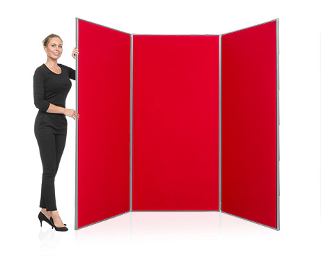 3 Panel Jumbo School Display Board