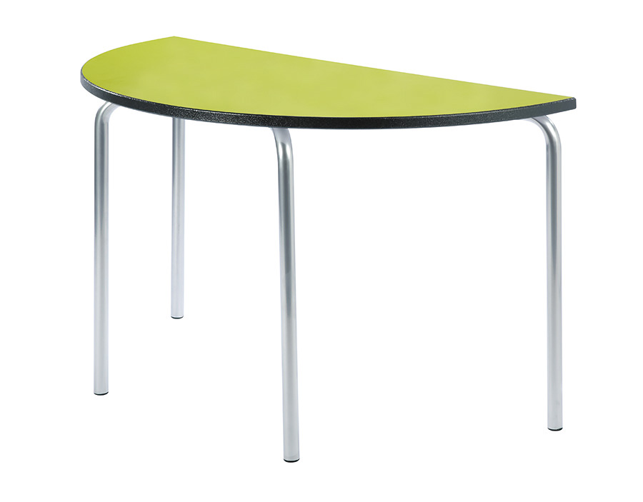 Equation Semi-Circular Classroom Table Pack of 2