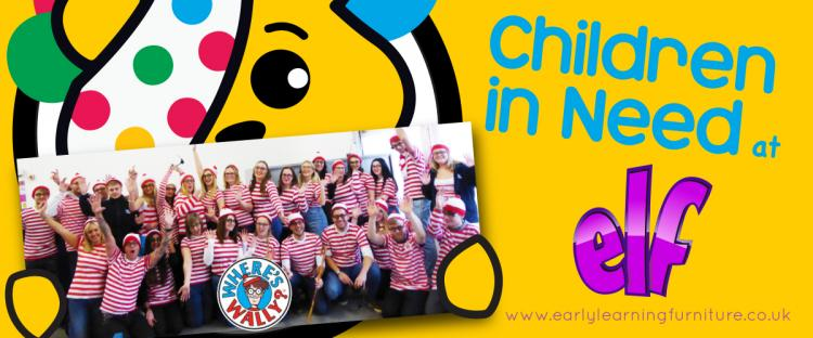 Children In Need Fundraising Fun at ELF